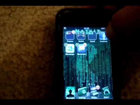 Create folders on your Iphone 4 4S ipod touch