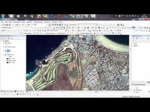 Smooth line arcgis