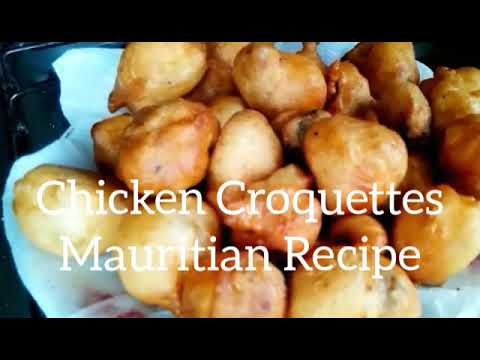 Mauritian Chicken Croquettes (My Style) Recipe