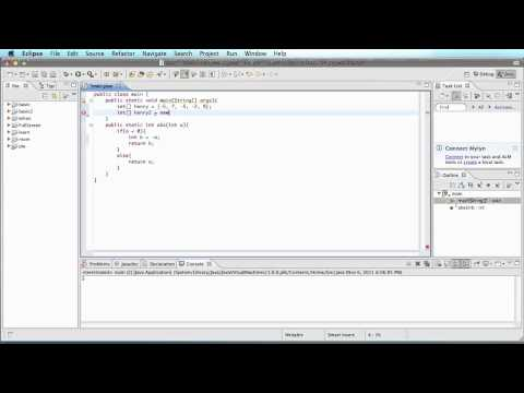 Java 12 - Multiple methods in the same class.mp4