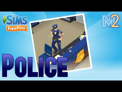 Sims FreePlay - Police Career Tutorial