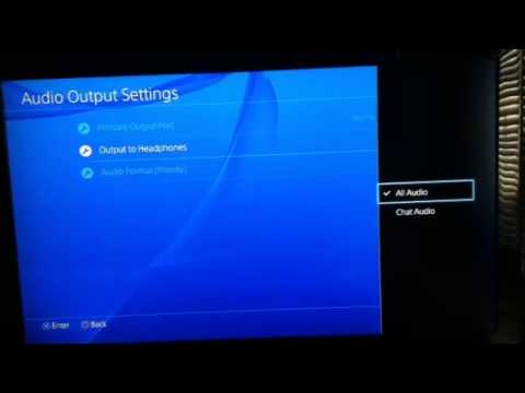 PS4: How to Play Audio Through Both Ear Pieces of a Headset