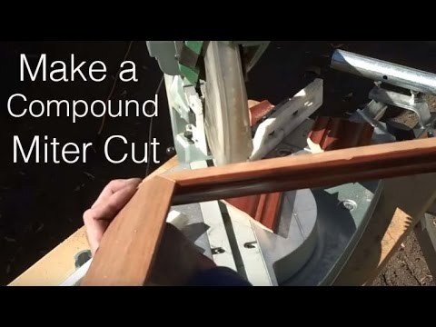How-to Make Compound Miter Cuts: Home-Shop Tips