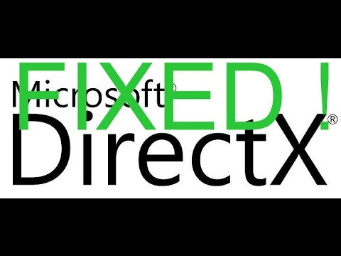 [UPDATE ) Fix for ALL NET FRAMEWORK & DIRECTX ERRORS WINDOWS 10 8 7 XP 2017 january