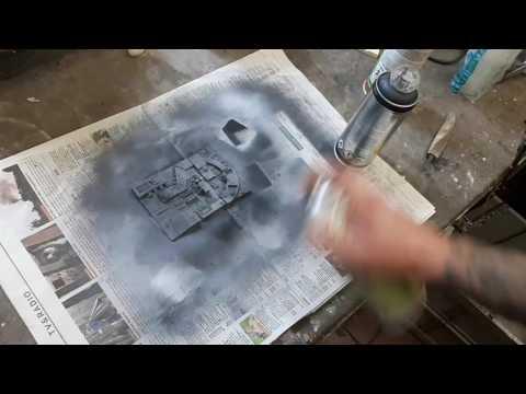 STAR WARS One Hour build in a timelapse - Death Star Mini Diorama