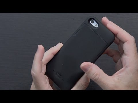 Sleek iPhone SE Battery Case from PowerBot