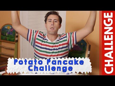 EW, GROSS! Potato Pancakes Challenge