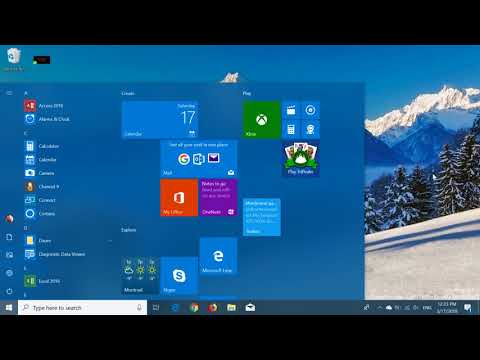 Quick look and review of Windows 10 build 17123 Spring Creators update