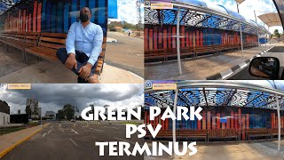 THE MOST BEAUTIFUL BUS PARK  - GREEN PARK BUS TERMINUS