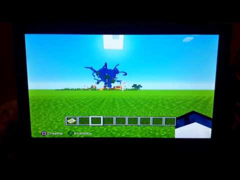 Wither storm in minecraft ps3!!!!