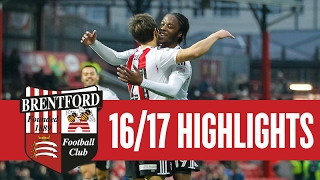 Emirates FA Cup Match Highlights: Brentford 5 Eastleigh 1 (Round Three Proper)