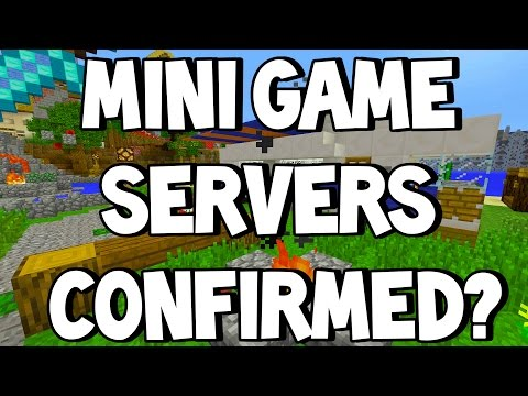 NEW GAME MODE!!! | MINI GAME SERVERS CONFIRMED? | MULTIPLAYER SERVERS TU36 | MINECRAFT XBOX/PS3