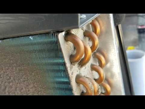 (DIY) How to clean a portable air conditioner with vent hose.