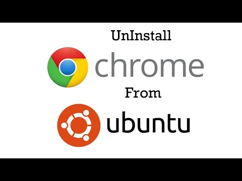 Uninstall Google chrome from ubuntu 14.04 LTS - 2015