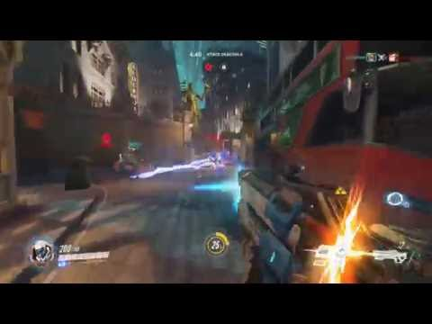 Overwatch - King's Row - Double Team Kill!
