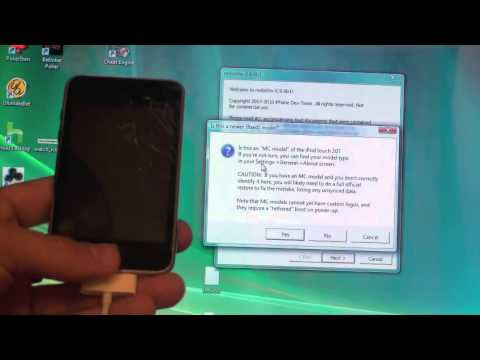 Redsn0w 4.1 Jailbreak for iPhone 3G & iPod Touch 2G on Windows