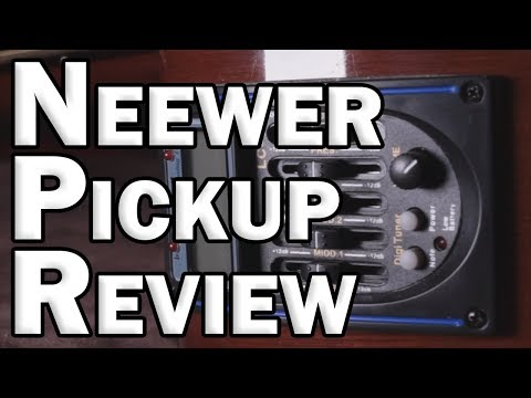 Neewer Under-Saddle Acoustic Guitar Pickup Review