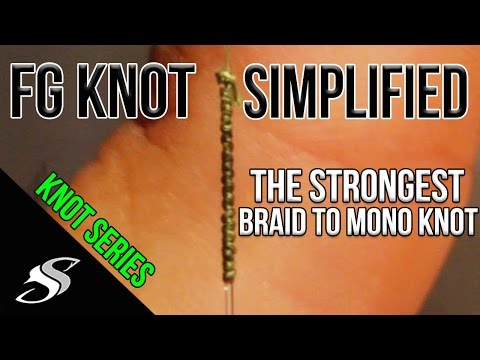 Easiest Way to Tie the FG Fishing Knot - Strongest Braid to Leader Knot