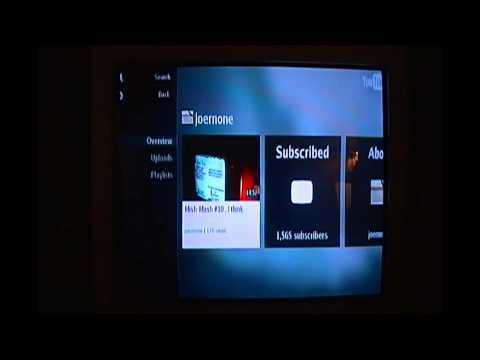Magnavox Blu - Ray player youtube functionality