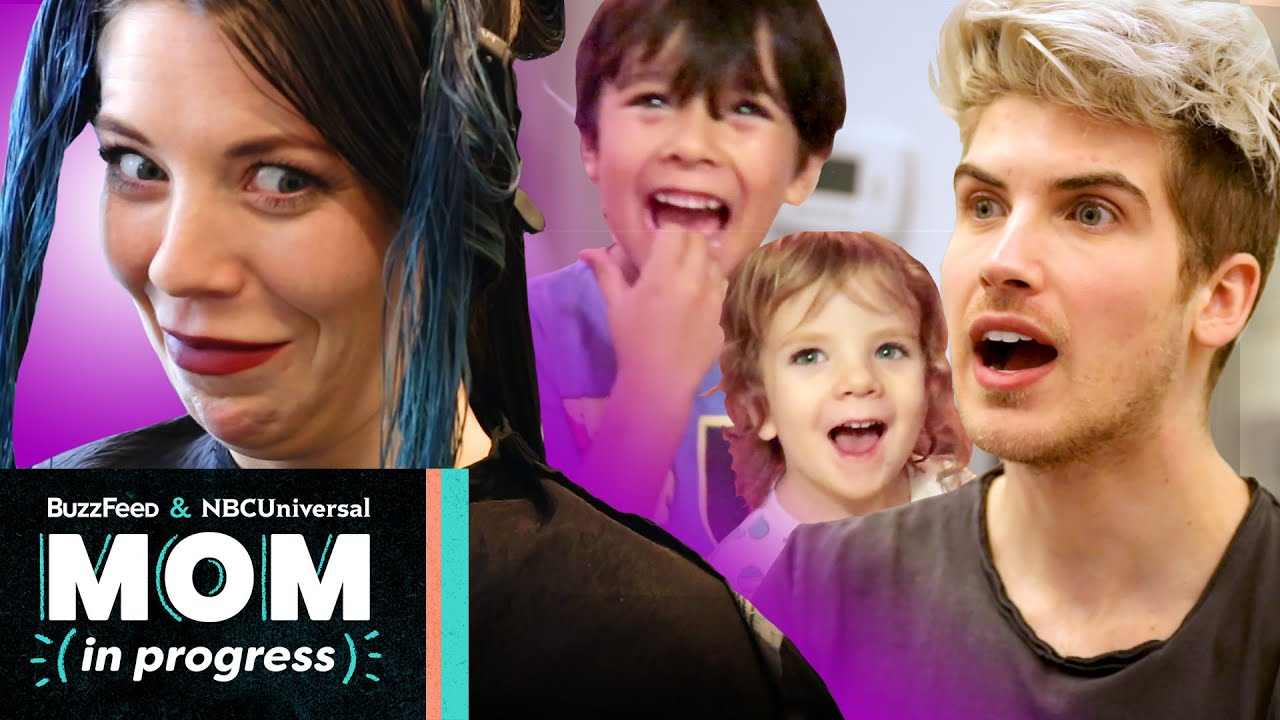I Let My Kids Pick My New Hair Color (Feat. Joey Graceffa)