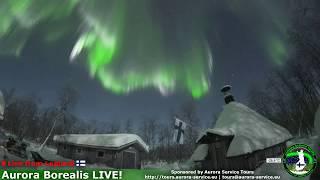 Aurora Borealis Live Stream Highlights 3.3.2018 II