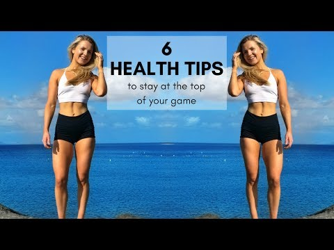 How To Stay Healthy & Fit As An Entrepreneur: Top Tips For Physical AND Mental Health