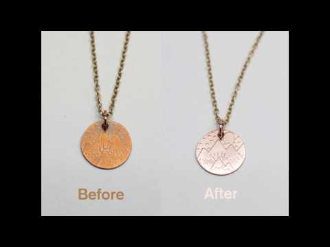 Cleaning Copper Using Soy Sauce