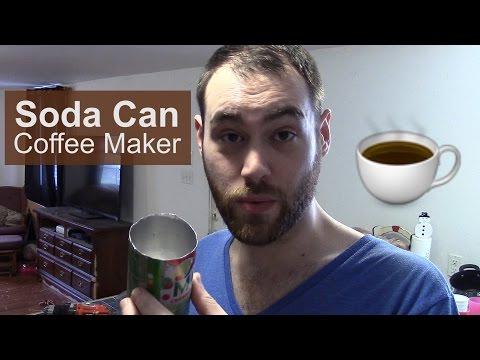 DIY Soda Can Coffee Maker