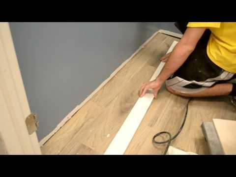 9. Finishing Basement - Tile, Trim, Finishing Touches