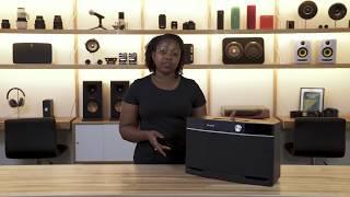 Aiwa Exos-9 portable Bluetooth speaker   Crutchfield video