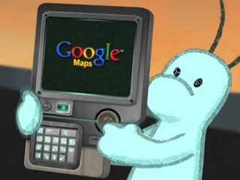 Aliens find businesses with Google Maps