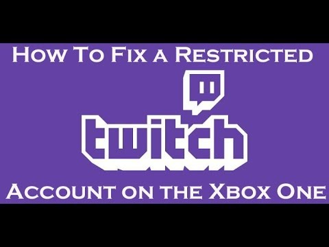 Twitch Restricted Account Fix