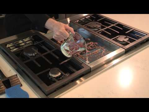 Cleaning your Chrome Infused Griddle