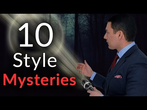 10 Style Mysteries | Can You Solve Them? | Breast Pockets? | Dress Shirts Vs Button Downs?