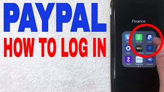 ✅  How To Log In To Paypal Account In App 🔴