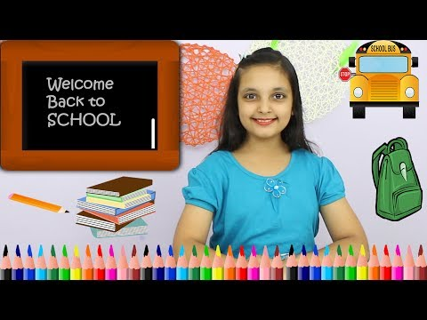 GOOD HABITS IN HINDI || HOW TO PREPARE FOR SCHOOL AFTER BREAK || #SchoolHacks