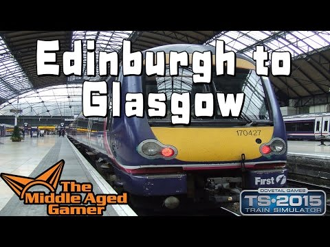 Train Simulator 2015 - Edinburgh to Glasgow - Eastern Express Service - Class 170 DMU