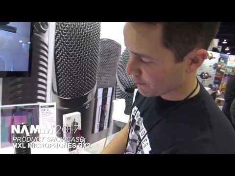 NAMM 2017 -  MXL DX2 Dual Capsule Instrument Microphone