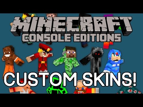 Minecraft (Xbox One/PS4) - CUSTOM SKINS COMING? Xbox 360/PS3