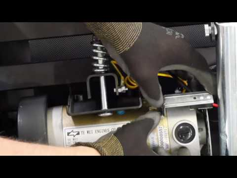 How to change the motor on a Climb treadmill ?