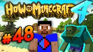 MONSTER INDUSTRIES EVENT! - HOW TO MINECRAFT S4 #48