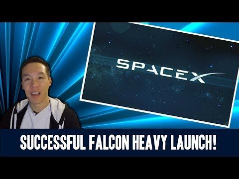 Nukem384 News: Successful Falcon Heavy Launch!