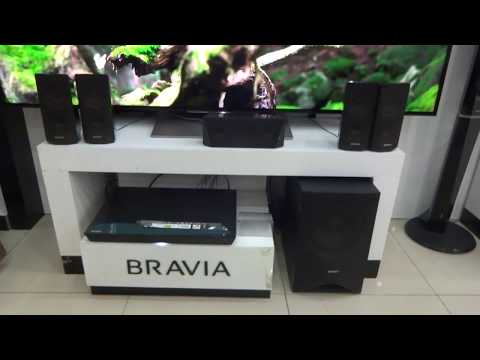 Sony BDV-E3100 Blu-ray Home Theater System with Bluetooth display video