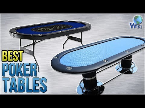 10 Best Poker Tables 2018