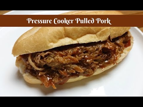 Pressure Cooker BBQ Pulled Pork ~ Shamrock 6.5 Quart Electric Pressure Cooker ~ Amy Learns to Cook
