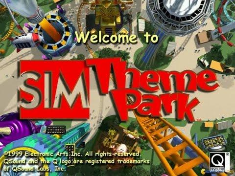 Sim Theme Park gameplay (PC Game, 1999)