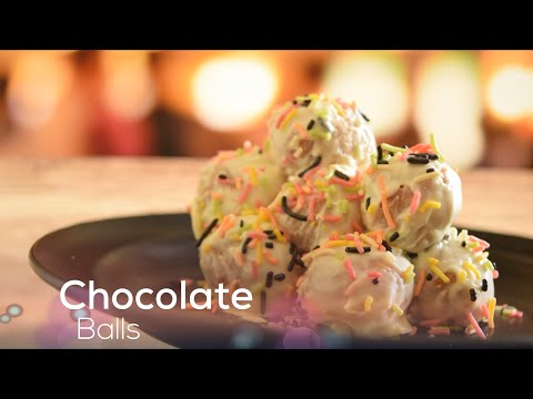 White Chocolate Ball | Easy Chocolate Truffles Recipes | Chocolate Recipes | Shree's Recipes