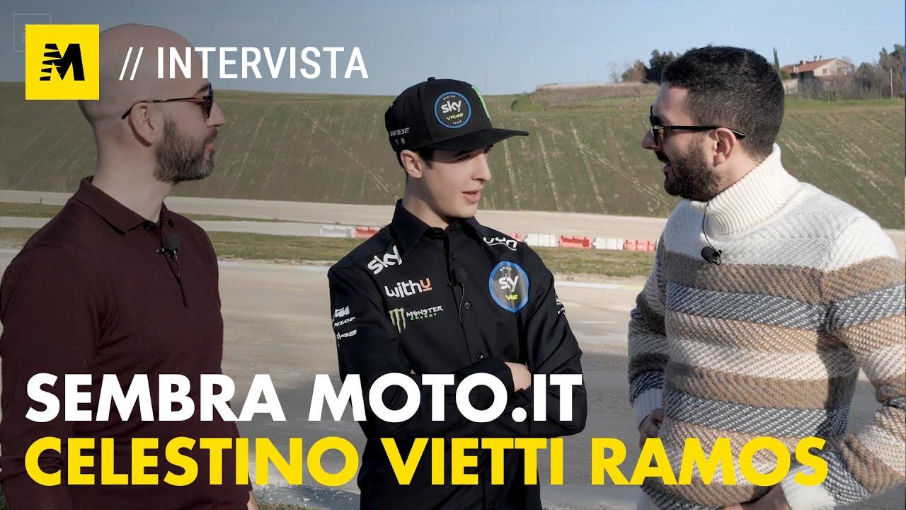Celestino Vietti Ramus «Sono l'uomo dei perché»    Sembra Moto.it