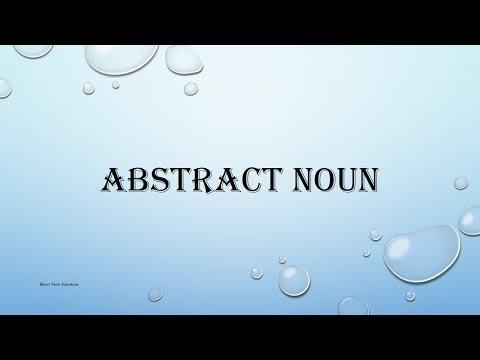 Basic English Grammar - Abstract Noun | Spoken English | Beginners English Grammar
