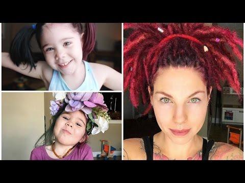 Dyeing Dreadlocks and Kid's Hair- The Fairly Local Vegan | ARCTIC FOX HAIR COLOR